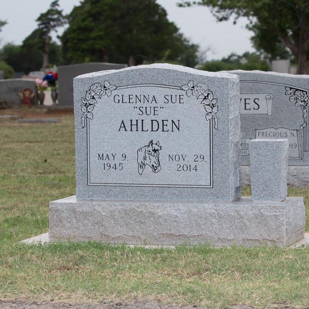 Georgia Gray Headstone