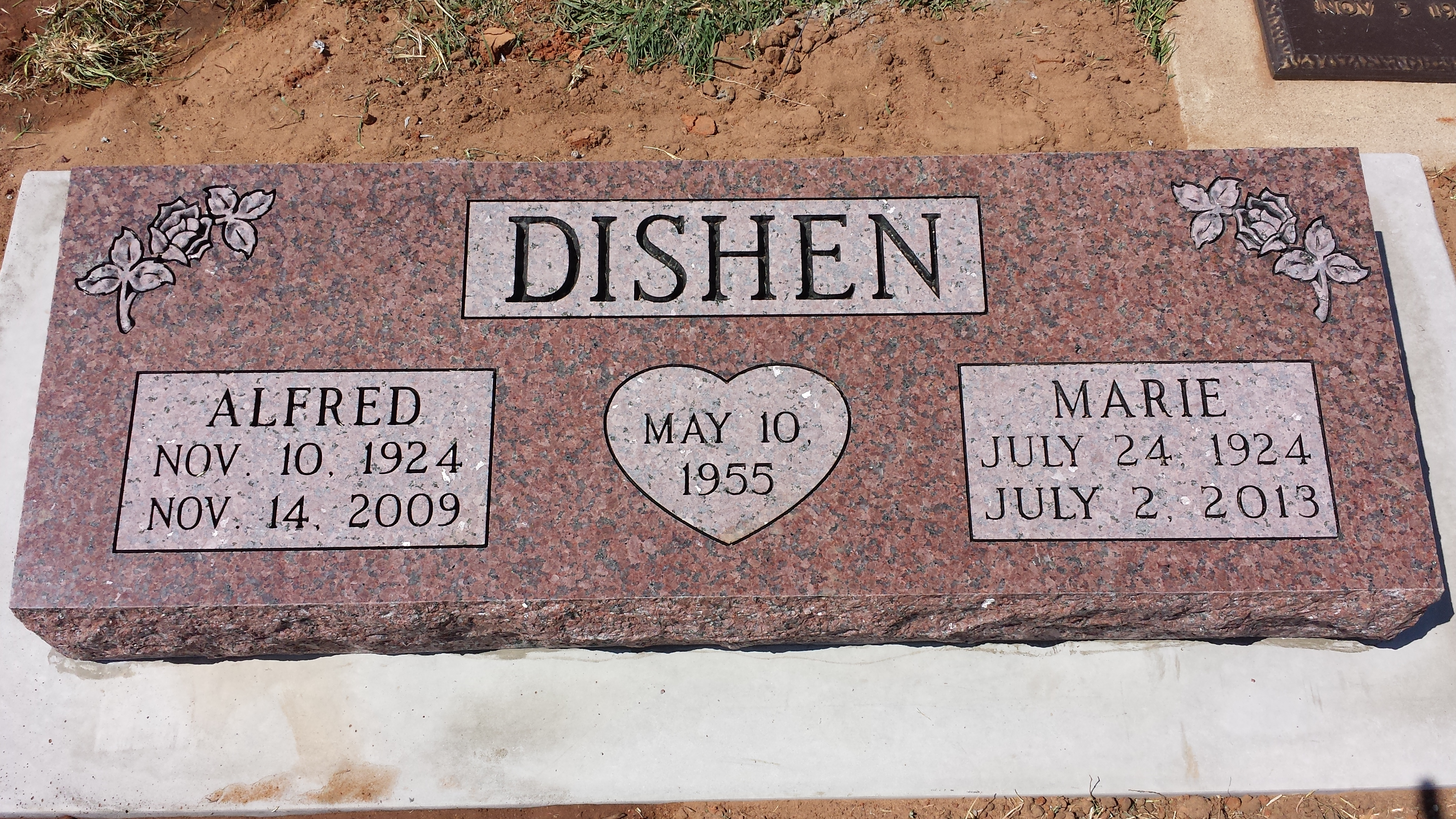 Dishen, Alfred and Marie