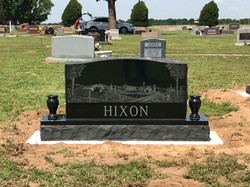 Traditional Black Cemetery Monument