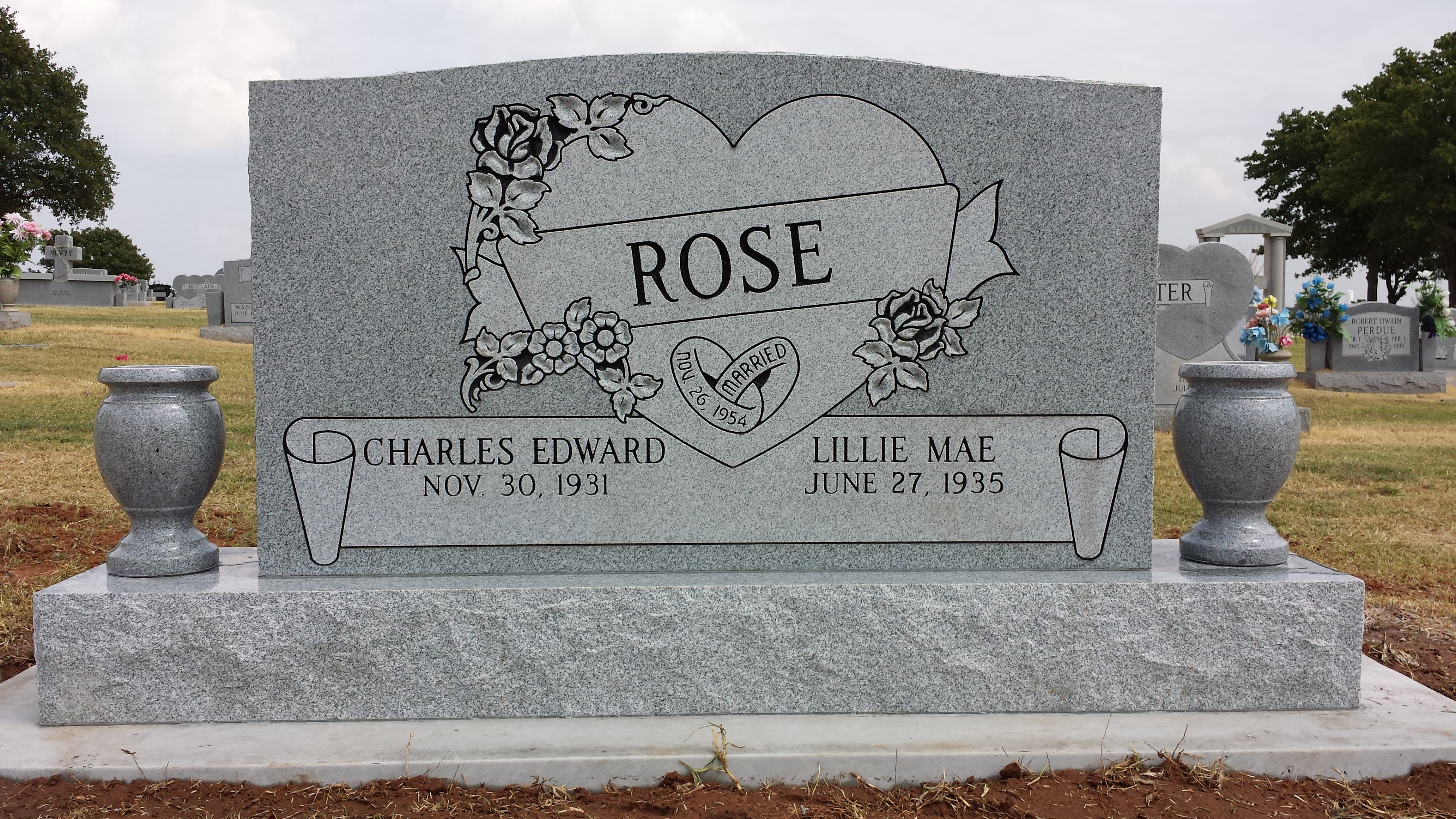 Rose front