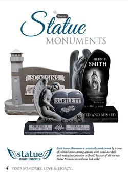 Granite Statue Memorials