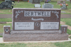 Dakota Mahogany Granite Headstone