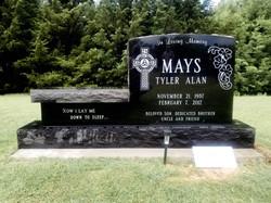 Custom Cemetery Bench