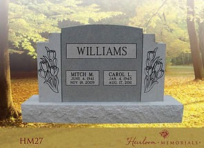 Beautiful Monument and Headstone Catalogs