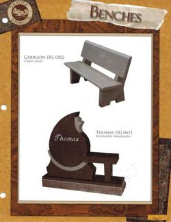 Granite Bench Catalog