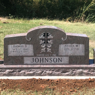 Paradisio Granite Cemetery Headstone
