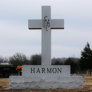 Georgia Gray Headstone - Large Cross