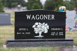 Premium Black Cemetery Headstone