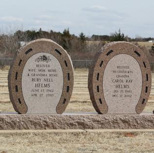 Desert Rose Cemetery Headstone