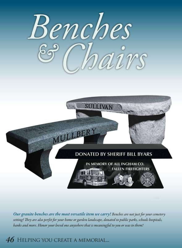 Granite Bench Designs