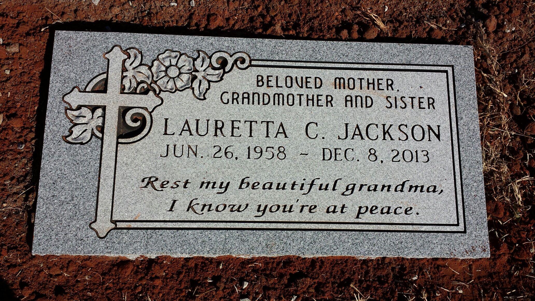 Jackson, Lauretta