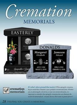 Granite Cremation Memorials
