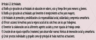 Actividades ADN Social Acción Comunitaria
