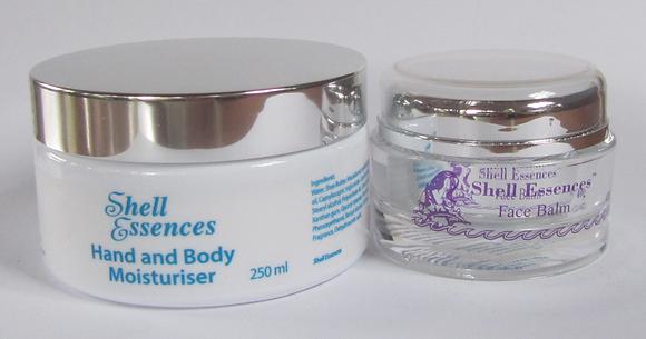 Face Balm 40gm and Hand/Body Moisturiser (250 ml).