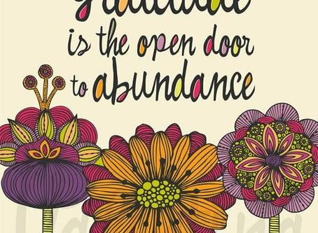 Our Desire for Abundance