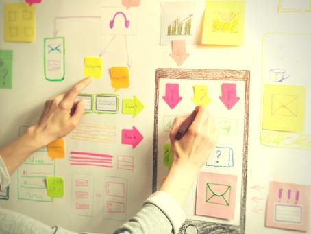 A arquitetura da informação em papel?