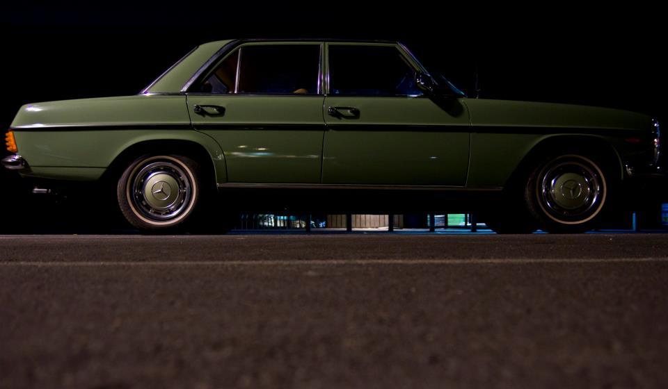 Mercedes W114 1974