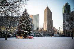 Berlin // Jul på Potsdamer Platz