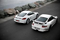 Porsche Cayenne // Porsche 911 GT3RS