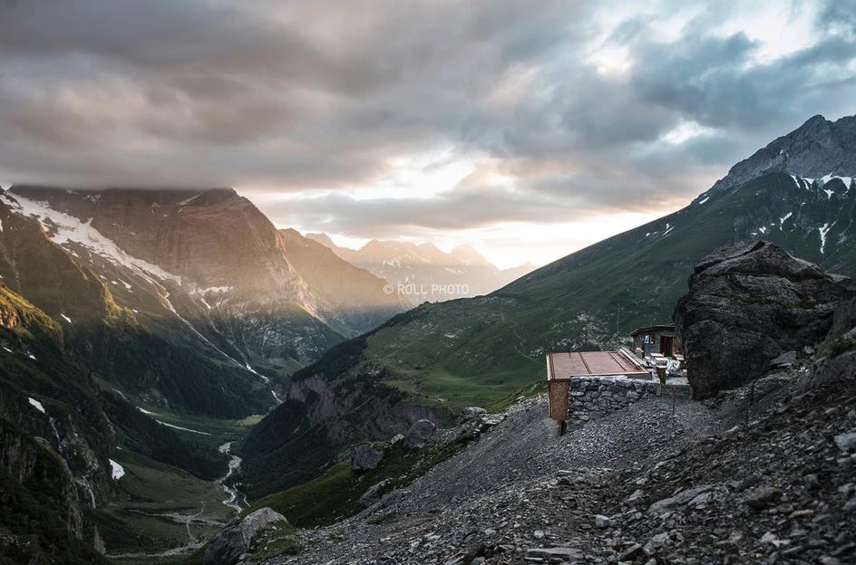 Spannorthütte, Sveits