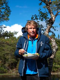 Ultraløper Hallgeir Lundemo