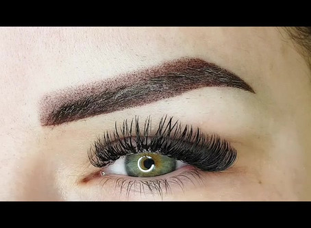 Ombre powder brows