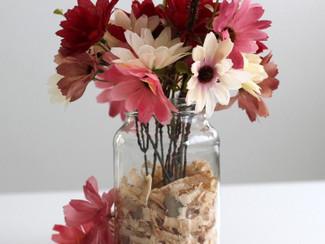 Como montar um vaso simples e charmoso