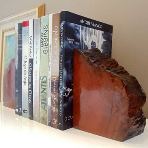 Aparador de Livros em Peroba Rosa