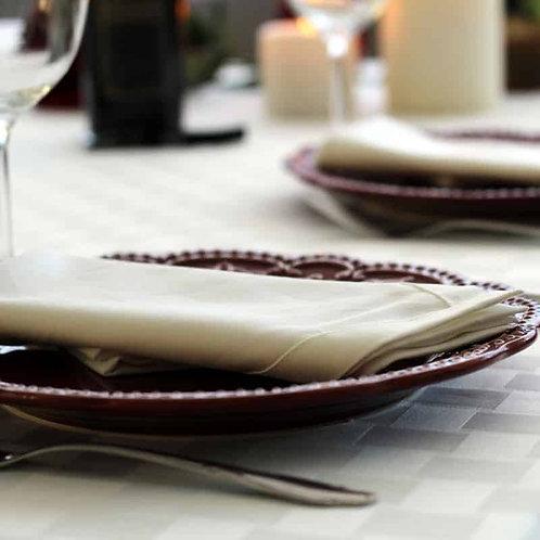 Conjunto de Guardanapos para Jantar em Algodão