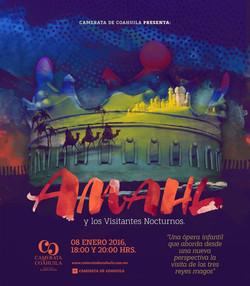 """""""Amahl y los visitantes nocturnos"""""""