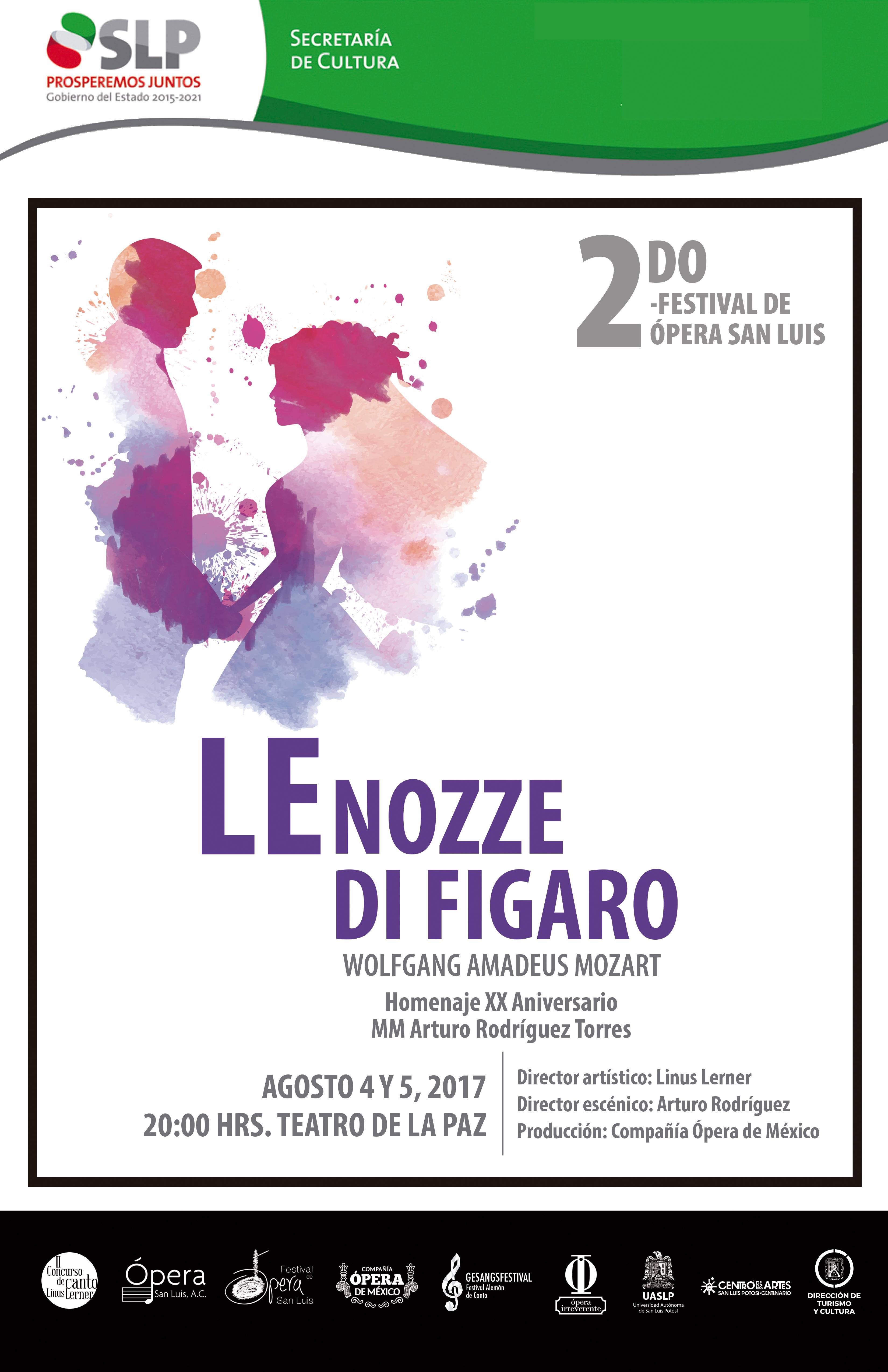 """Ópera """"Le nozze di Figaro"""""""