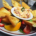 Pimento Cheese Fruit Plate