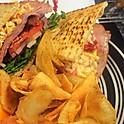 Pimento Ham and Cheese Panini