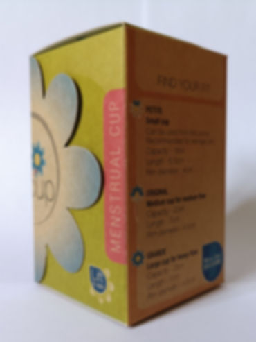 MyownCup recycled packaging