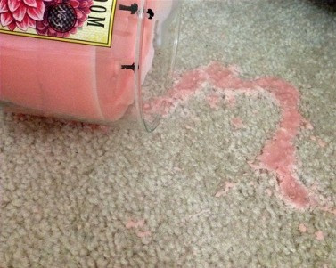 Oops! I spilled wax on my carpet, now what!?