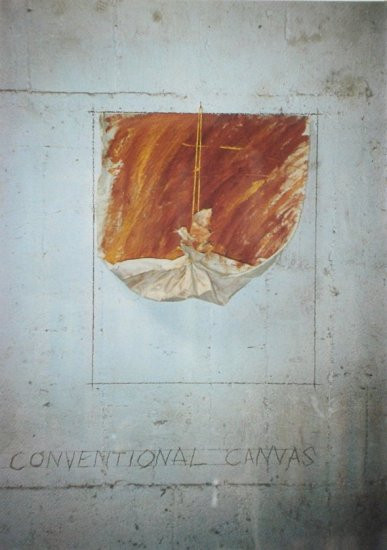 The End of the Conventional Canvas III 1983