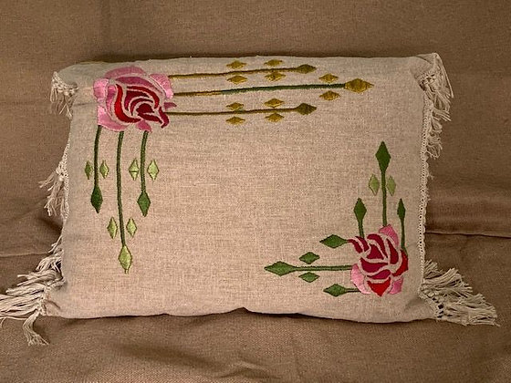 Embroidered Pillow  #3