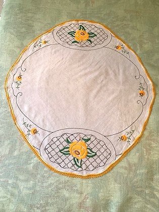 Embroidered Round. #5