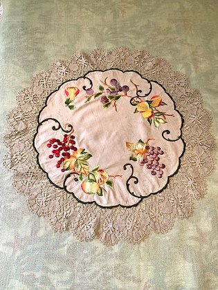 Embroidered Round #6.