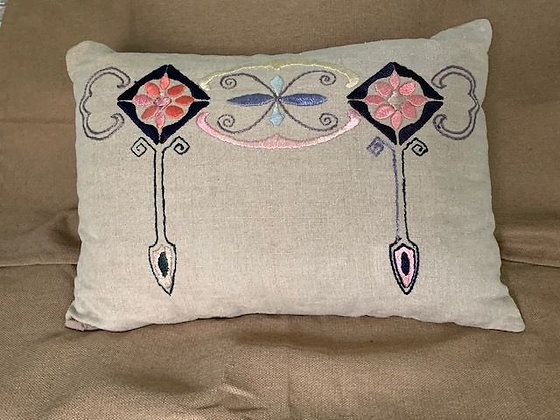 Embroidered Pillow # 4