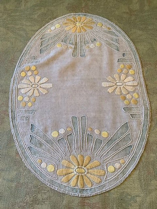 Embroidered Oval #5