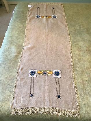 Linen Table Runner #1 SOLD