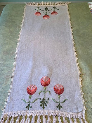 Stylized Floral Runner #14