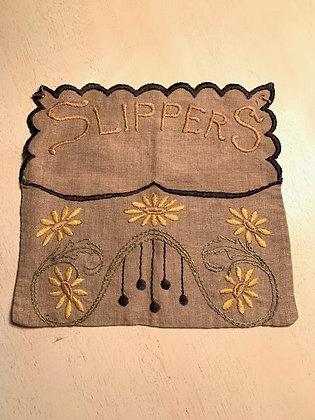 Linen Slipper Bag #3