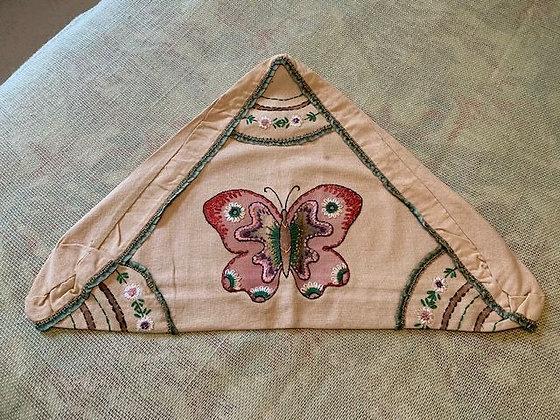 Triangular Moth Pillow Cover#4.