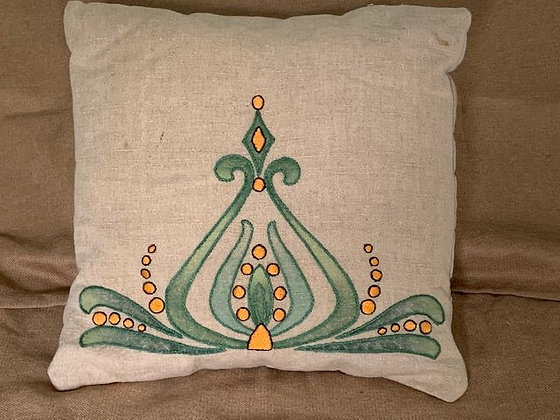 Embroidered Pillow #2