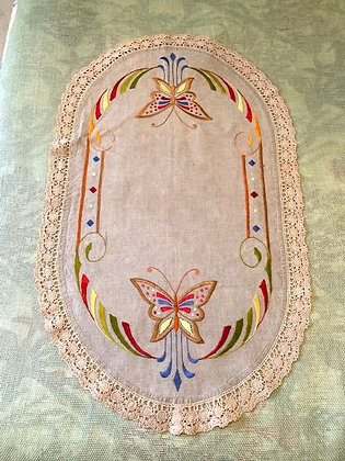 Embroidered Oval # 2.