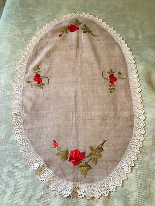 Embroidered Oval #4.