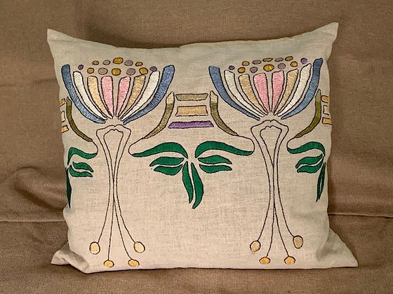 Embroidered Pillow # 1