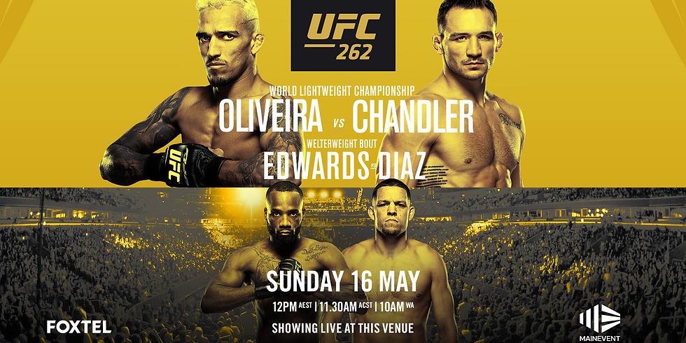 Ufc262: Oliveira vs. Chandler